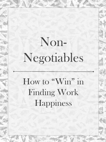 Nonnegotiables
